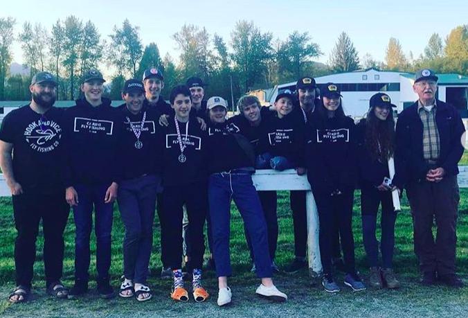Carihi Fly Fishing Team 2019